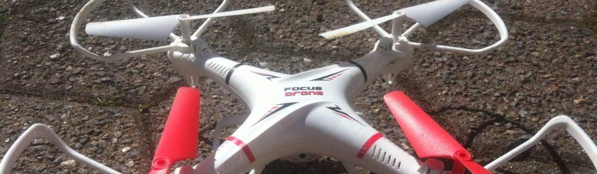 Drones en eigendom van onroerend goed