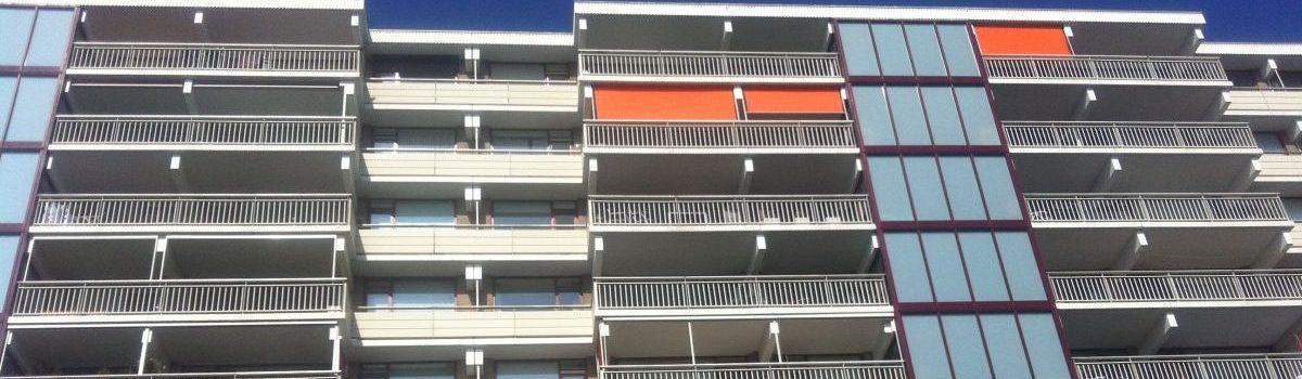 Wijzigingen en uniformiteit van appartementen (buitenzijde)